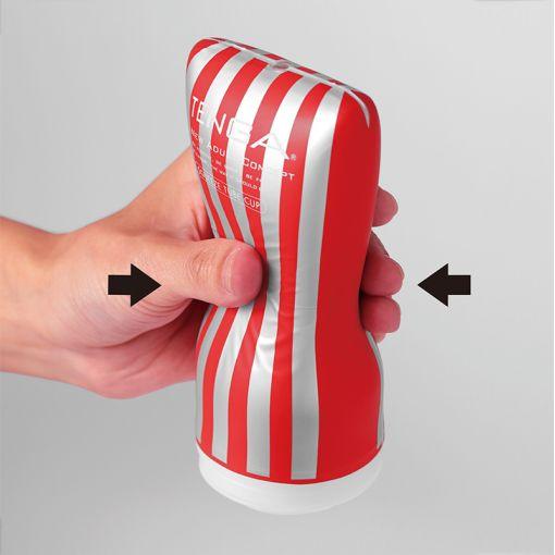 Tenga New CUP masturbator Squeeze Tube