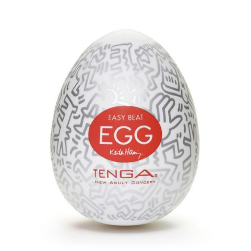 Tenga Egg Keith Haring masturbator w kształcie jajka Party