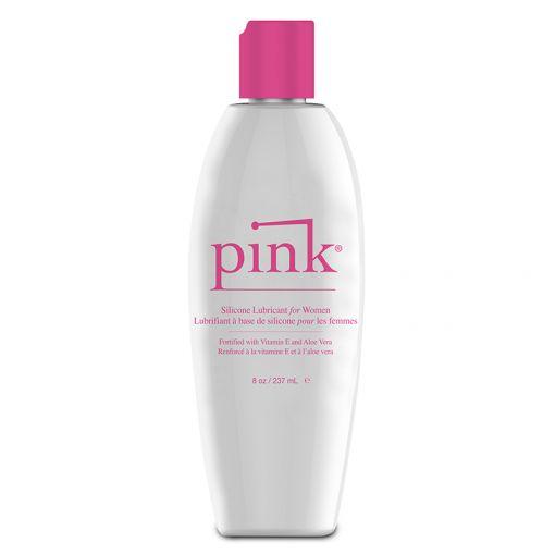 Pink Silicone lubrykant na bazie silikonu 237 ml