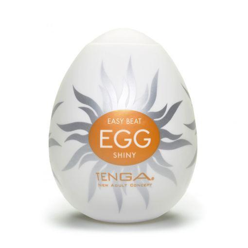 Tenga Egg Hard Boiled masturbator w kształcie jajka Shiny