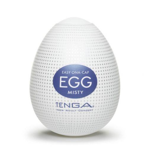 Tenga Egg Hard Boiled masturbator w kształcie jajka Misty