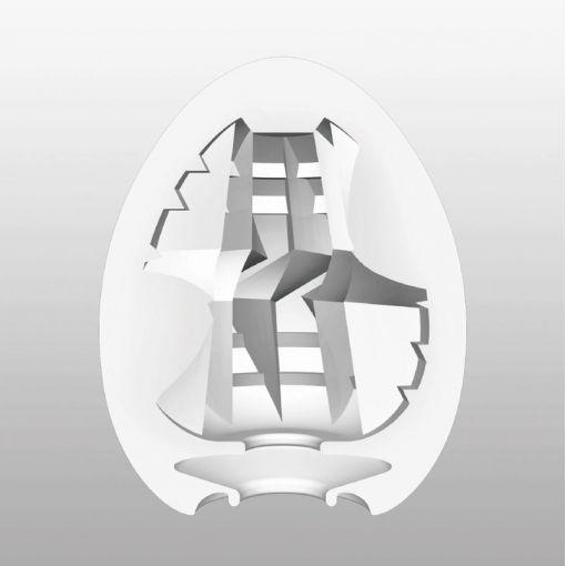 Tenga Egg Hard Boiled masturbator w kształcie jajka Thunder