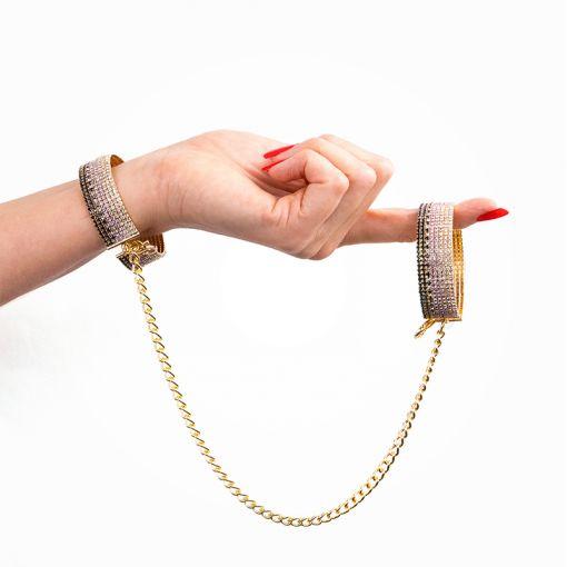 Rianne S kajdanki z cyrkoniami złoto-fioletowe
