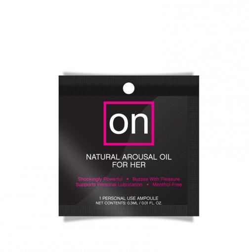 Sensuva ON Oil olejek stymulujący łechtaczkę ampułka 0,3 ml