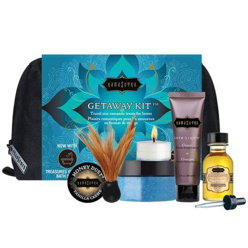 Kama Sutra Getaway Kit podróżny zestaw kosmetyków do gry wstępnej