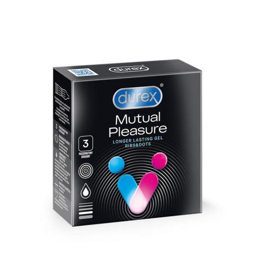 Durex Mutual Pleasure prezerwatywy dla obojga partnerów 3 szt.