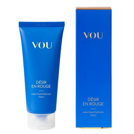 VOU Desir En Rouge smakowy lubrykant na bazie wody wiśniowy 100 ml