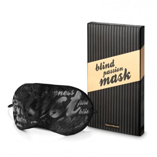 Bijoux Indiscrets Blind Passion maska na oczy czarna