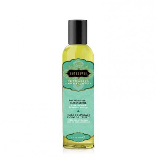 Kama Sutra Aromatic olejek do masażu pomarańcza, cytryna, mięta i imbir 59 ml