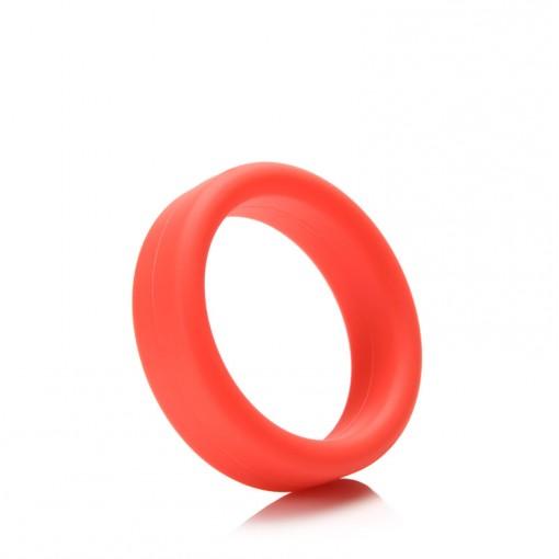 Tantus Super Soft C-Ring pierścień erekcyjny czerwony