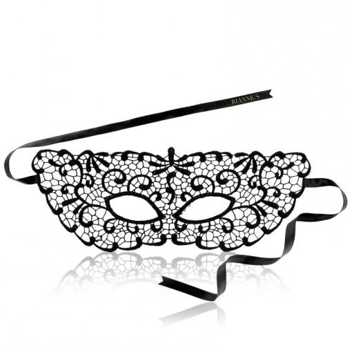 Rianne S koronkowa maska na oczy Jane czarna